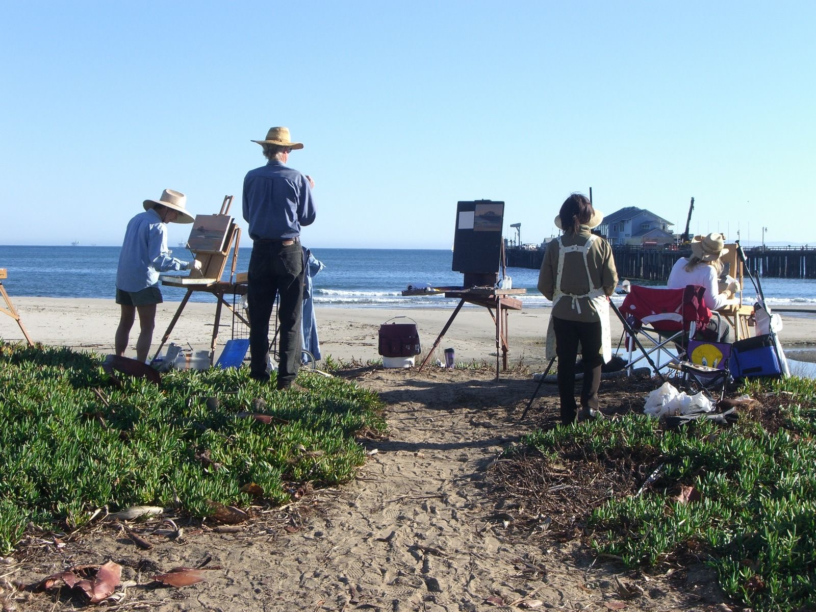 Artists on East Beach.jpg