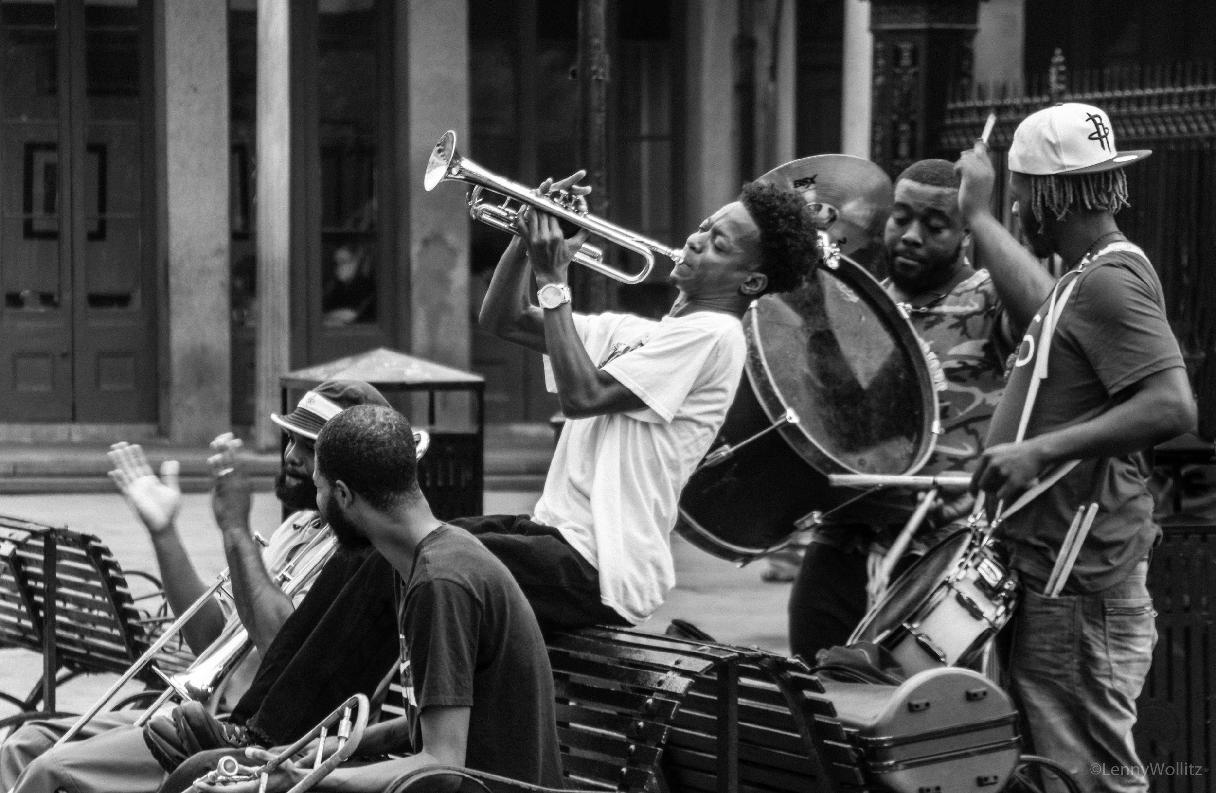 New Orleans Jackson Square Band