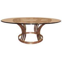 Sculptural Round Coffee Table