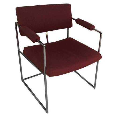 Milo Baughman Chrome Chair