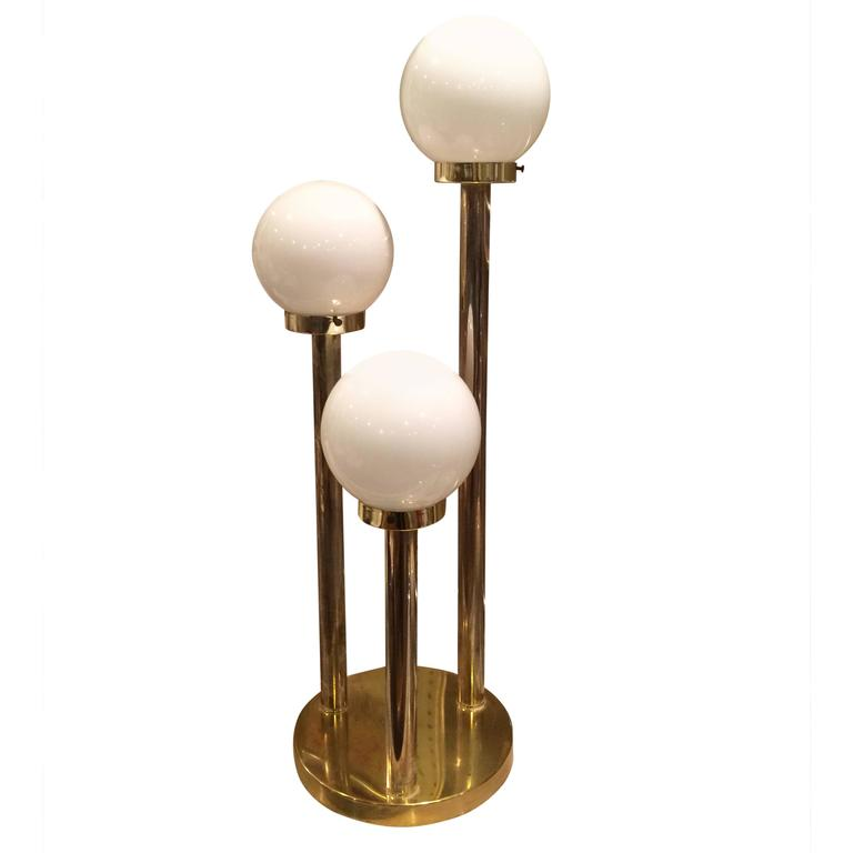 Brass Lollipop Table Lamp