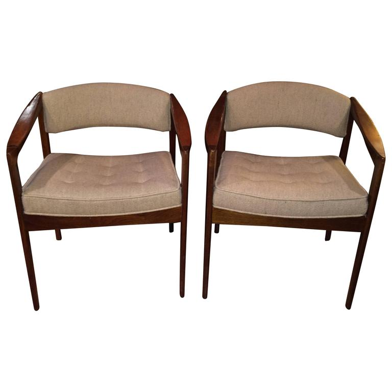 Pair of Mid-Century Chairs