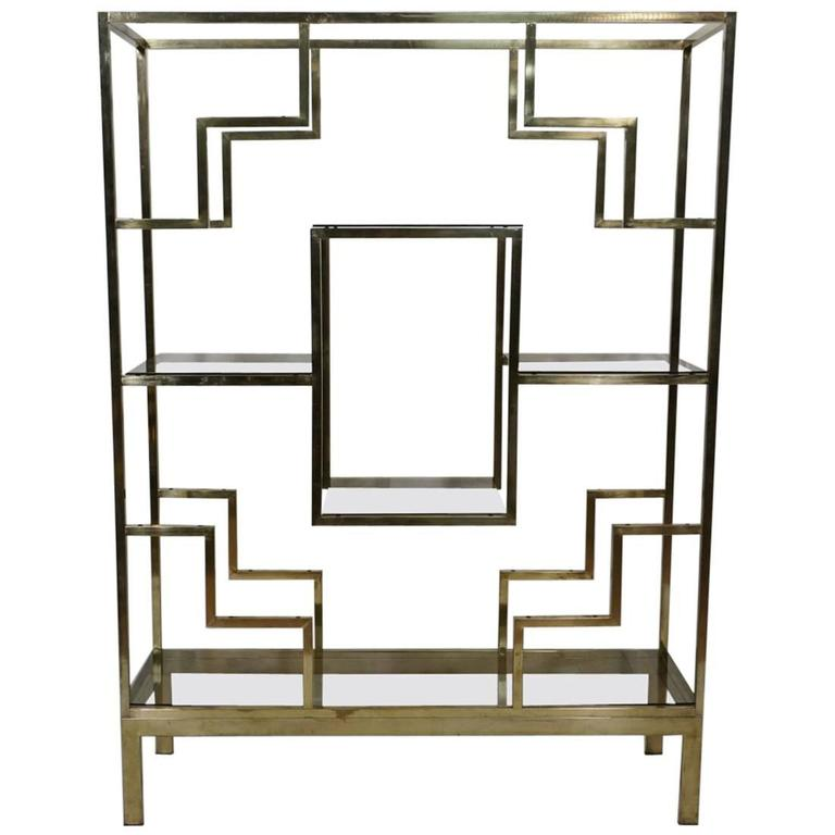 Romeo Rega Etagere in Brass