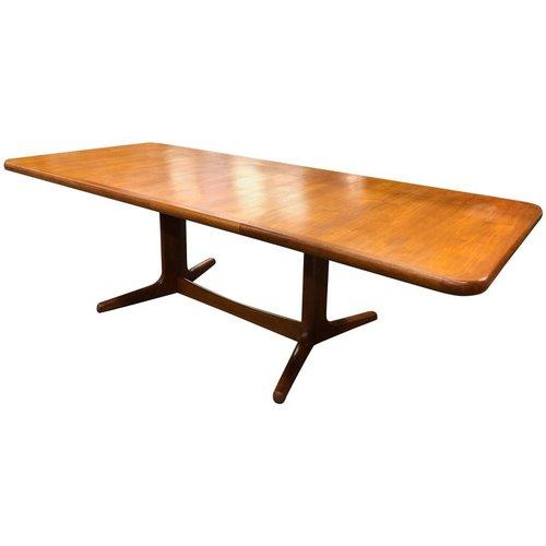Mid Century Solid Teak Table