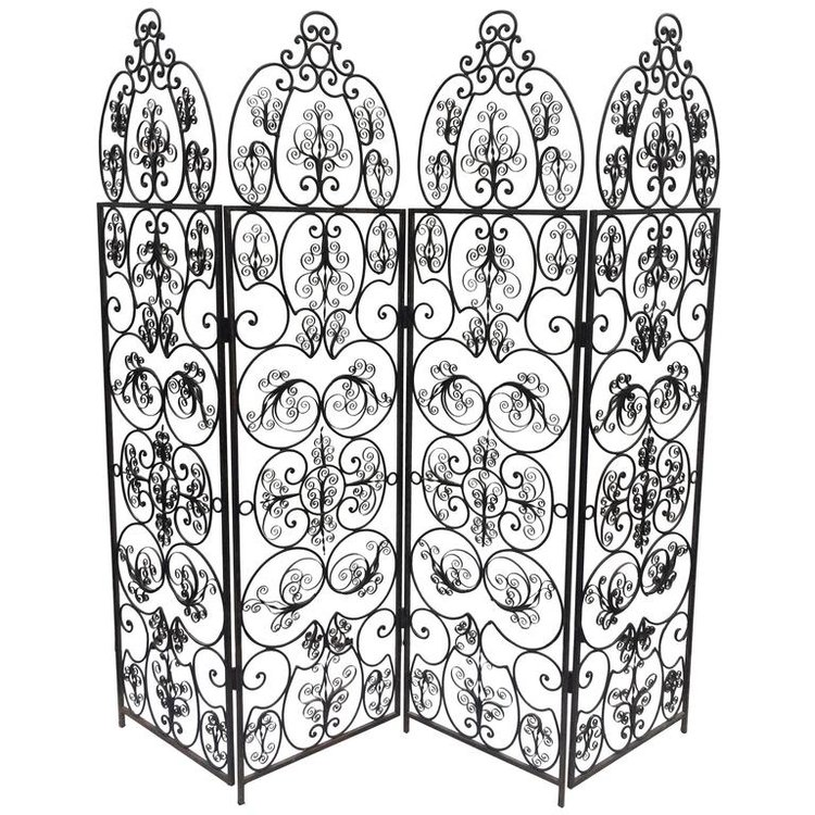 Iron Folding Screen