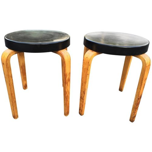 Thonet Stacking Stools Tables