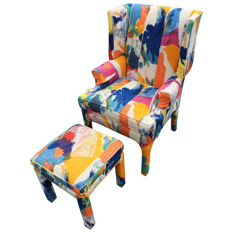Wing Back Chair by Century