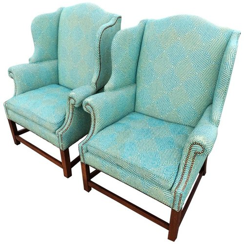 Henredon Wing Back Chair