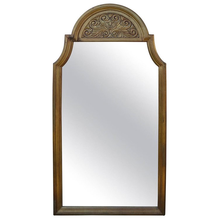 Hollywood Regency Gilt Mirror