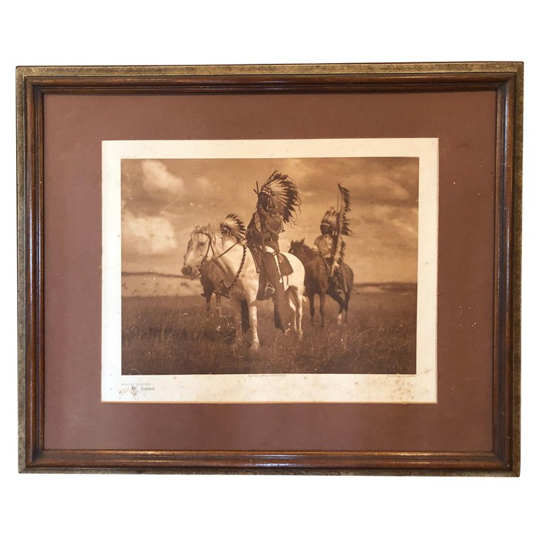 Edward Curtis Photogravure Sioux Chiefs
