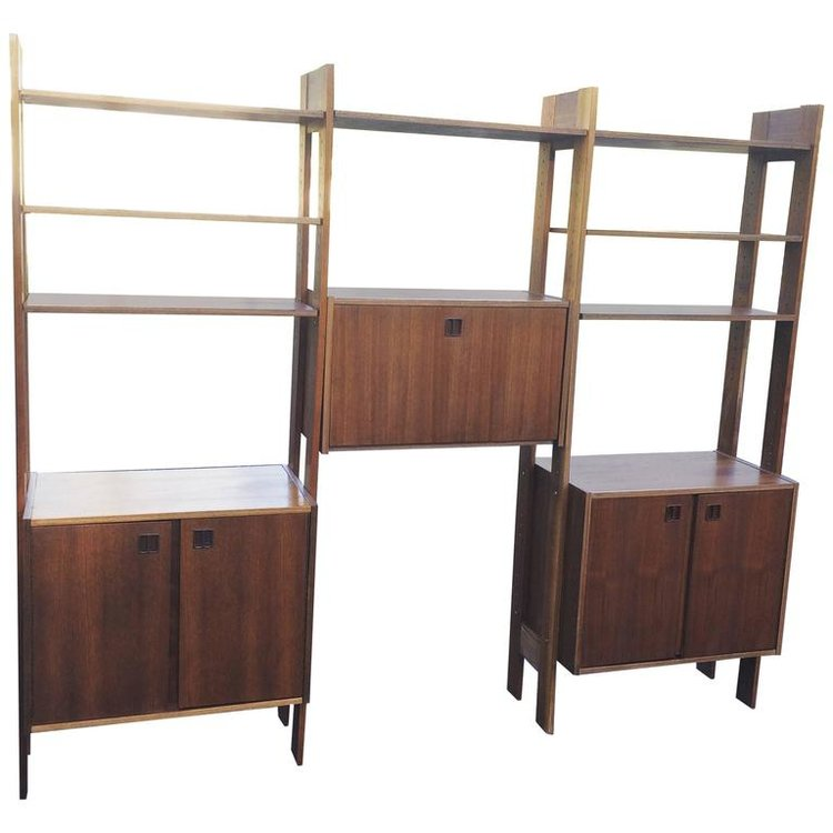 Teak Cado Wall Unit