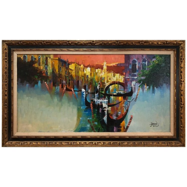 Abstract Painting of Venice