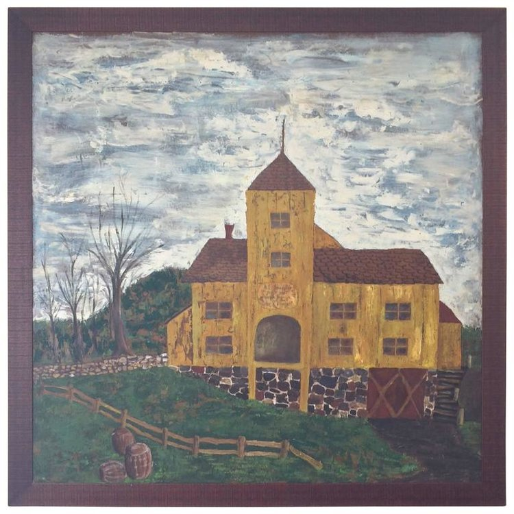 Painting of Historic Cider Mill