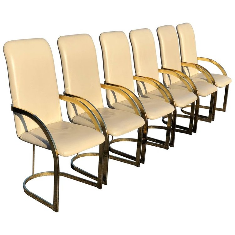 Milo Baughman Set of Chairs