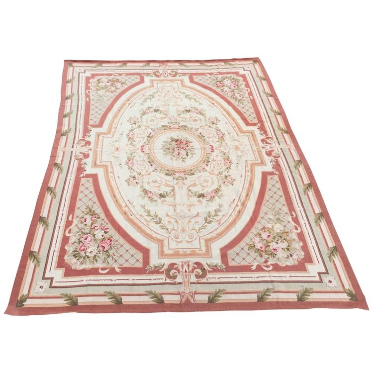 Needlepoint Aubusson Rug