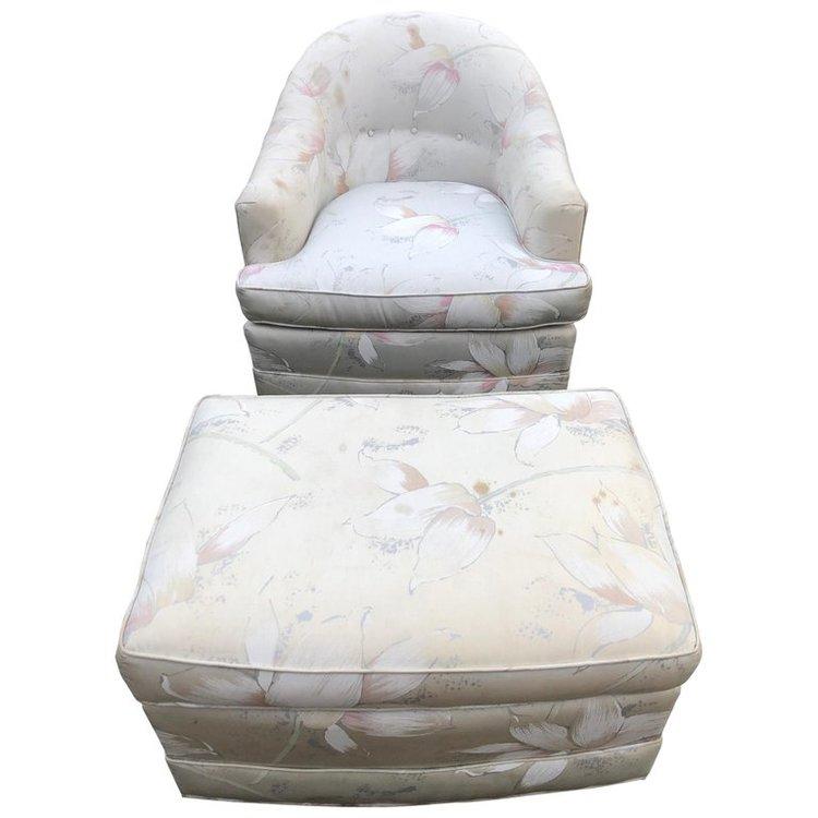 Milo Baughman Style Chair