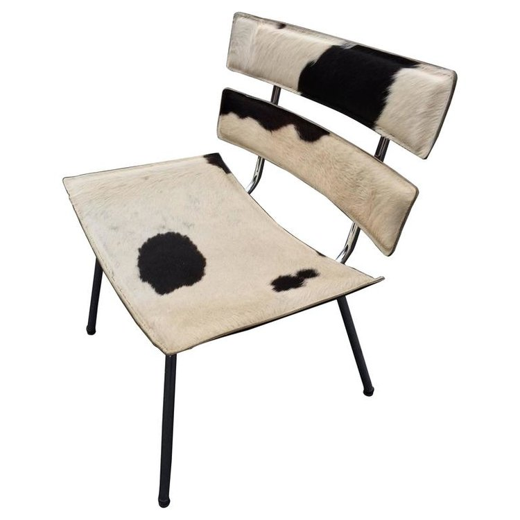 Cowhide Eames Style Chair