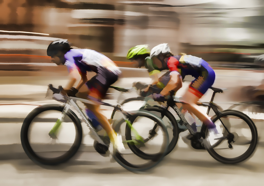 Bicycle Race, Downtown Portsmouth