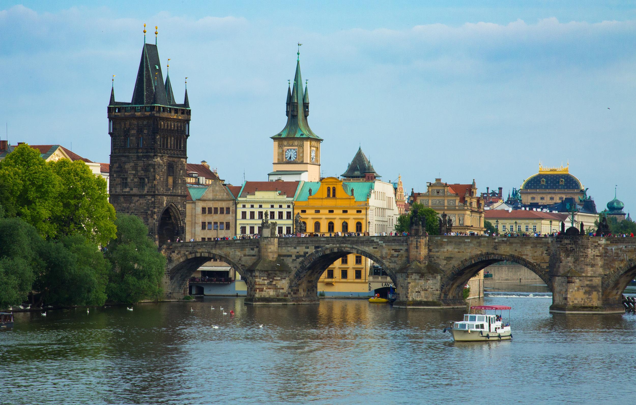 King George Bridge, Prague