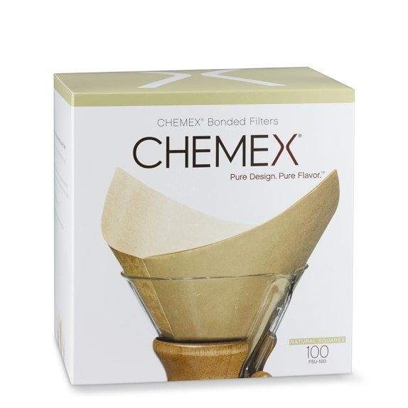Various Chemex Filters + Coffee Filters