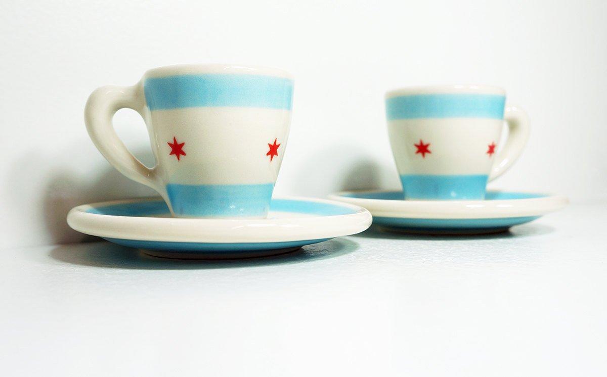Circa Ceramics Chicago Flagware