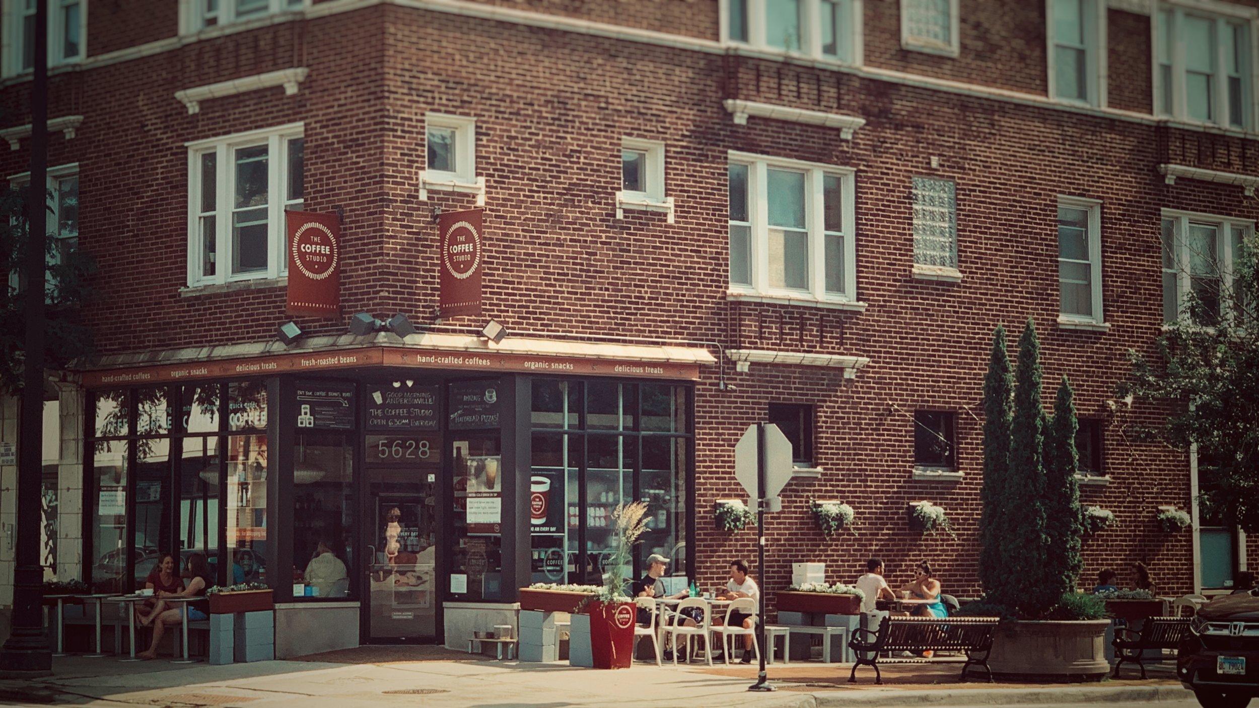 The Coffee Studio at 5628 N. Clark St