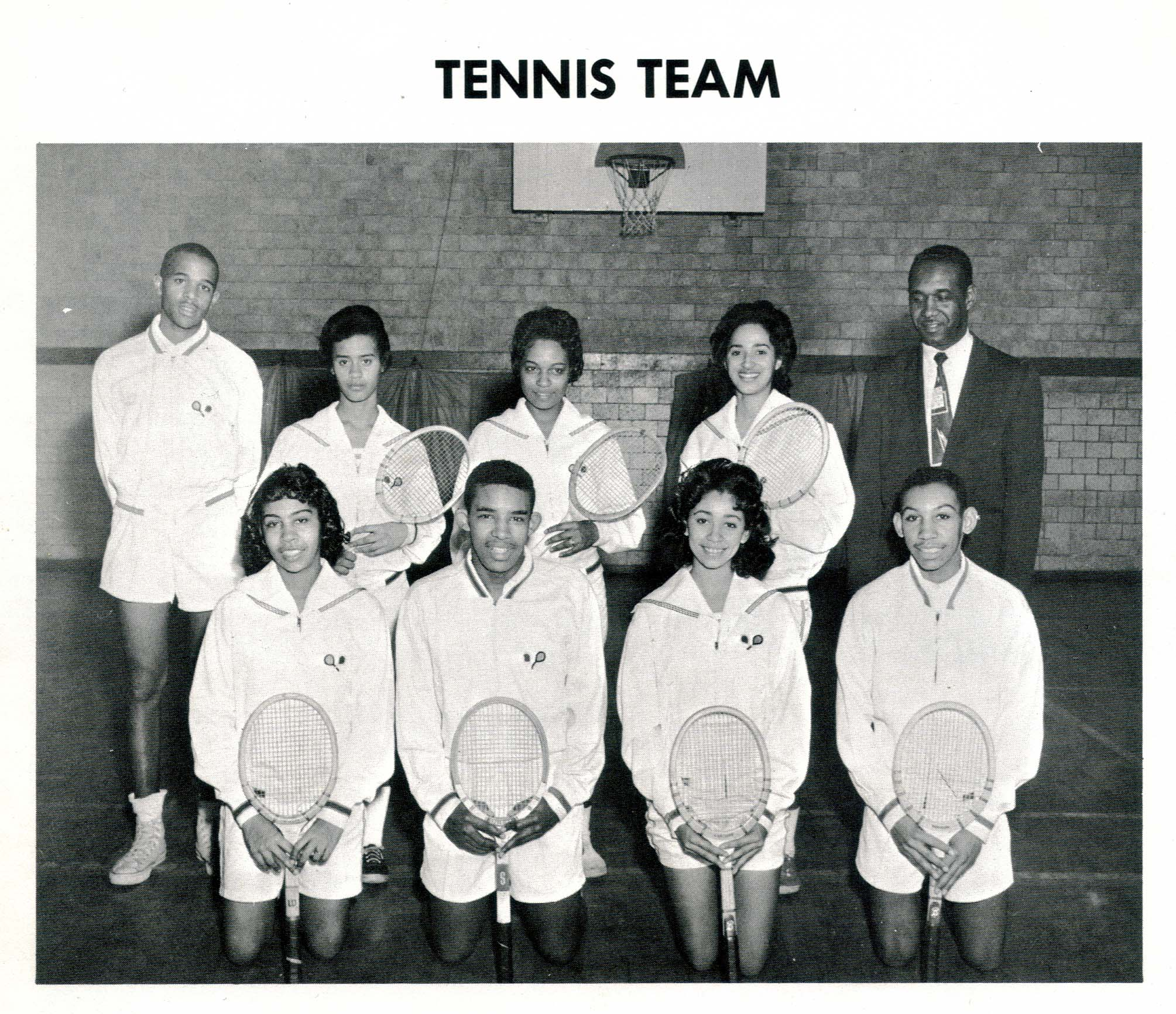 Tennis Team, 1961