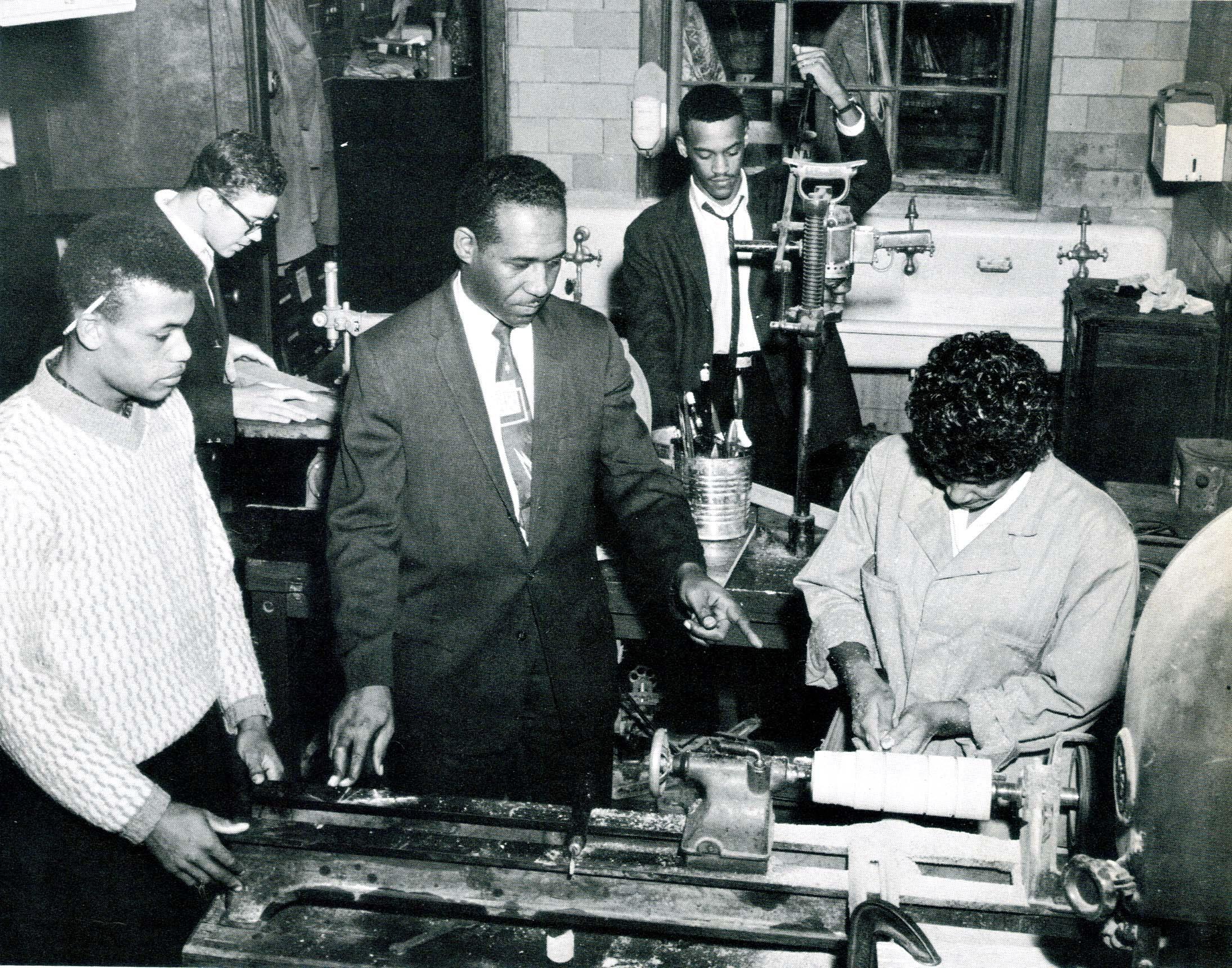 Industrial Arts Class, 1962