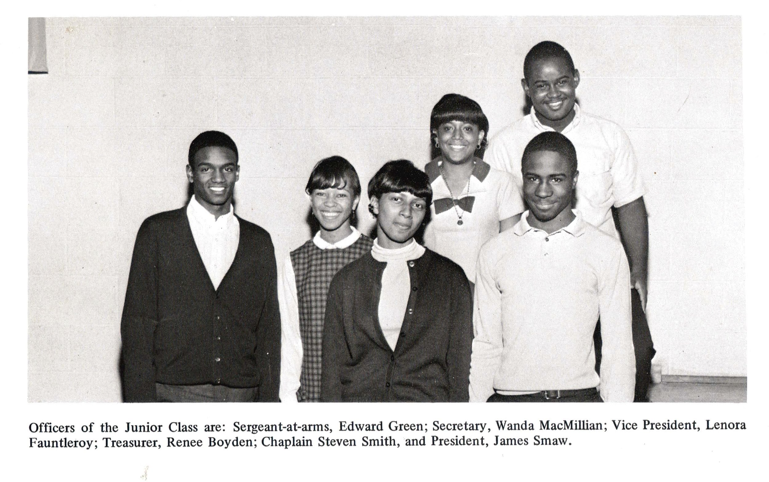 Junior Class Officers, 1968