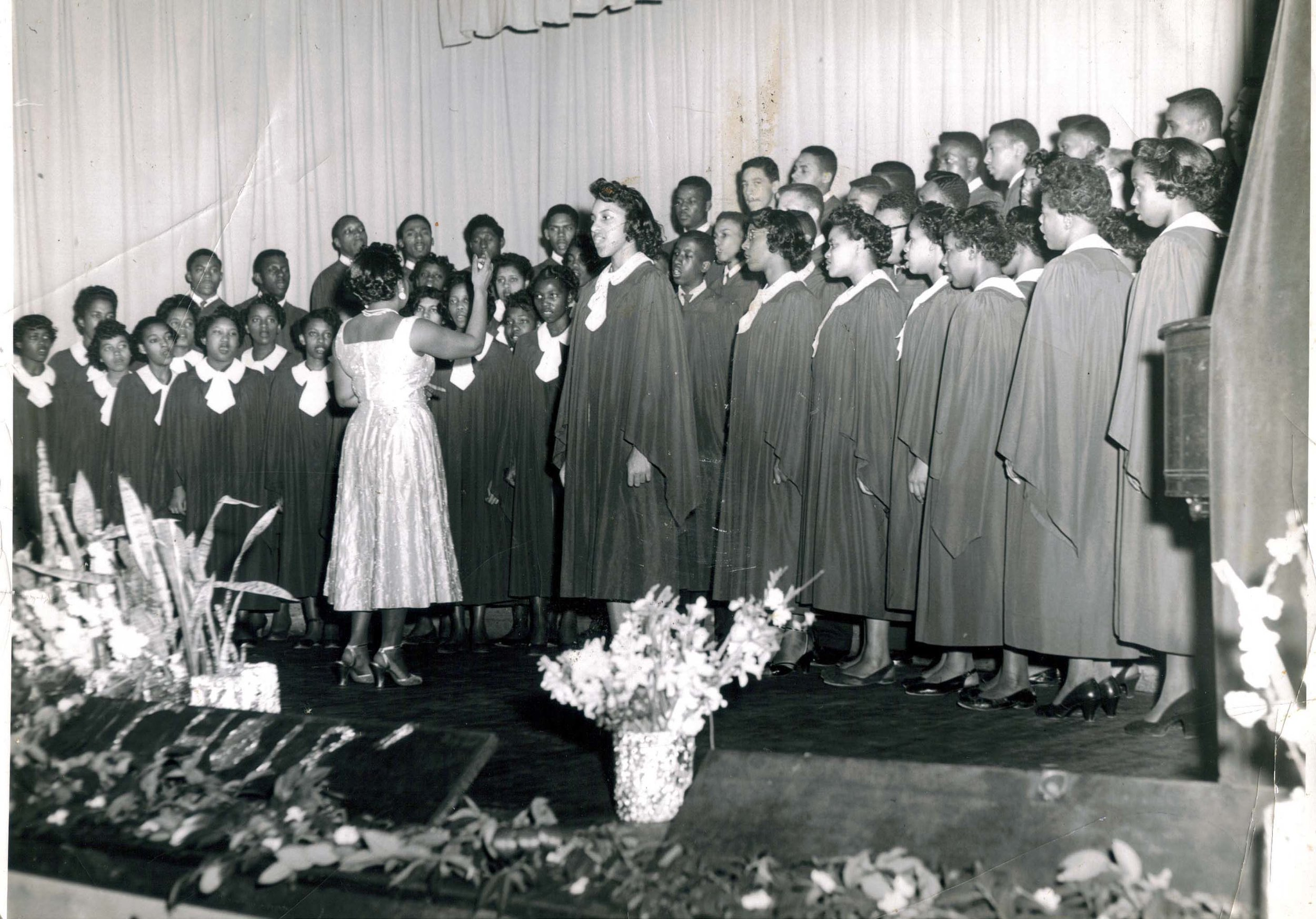 Choir, 1954-55
