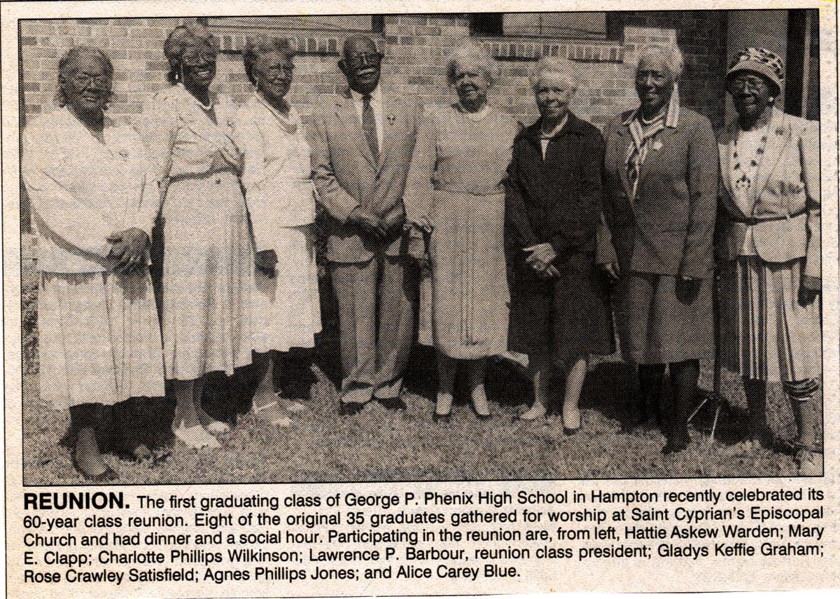 Alumni, Class of 1933