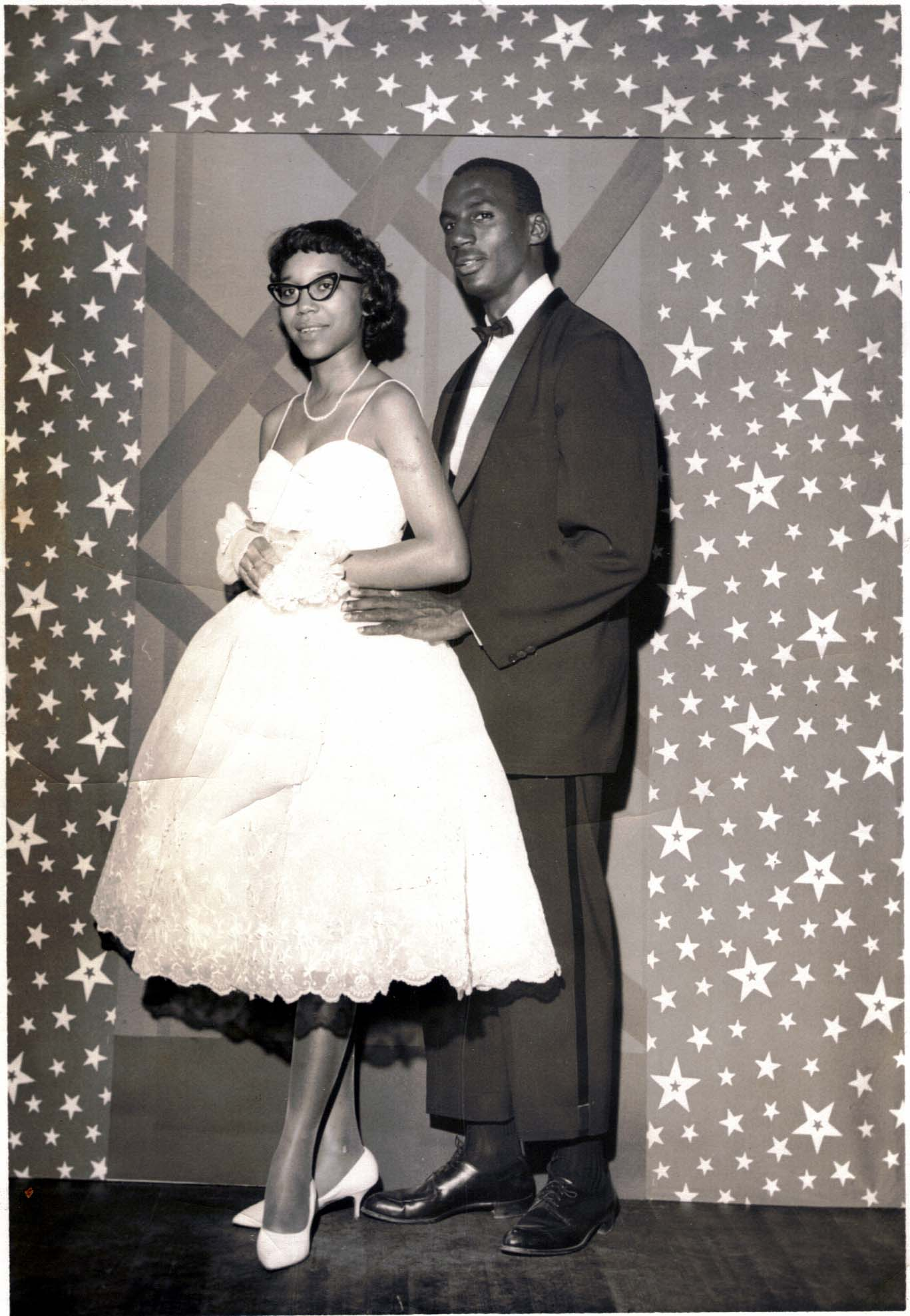 Students at Prom, 1962