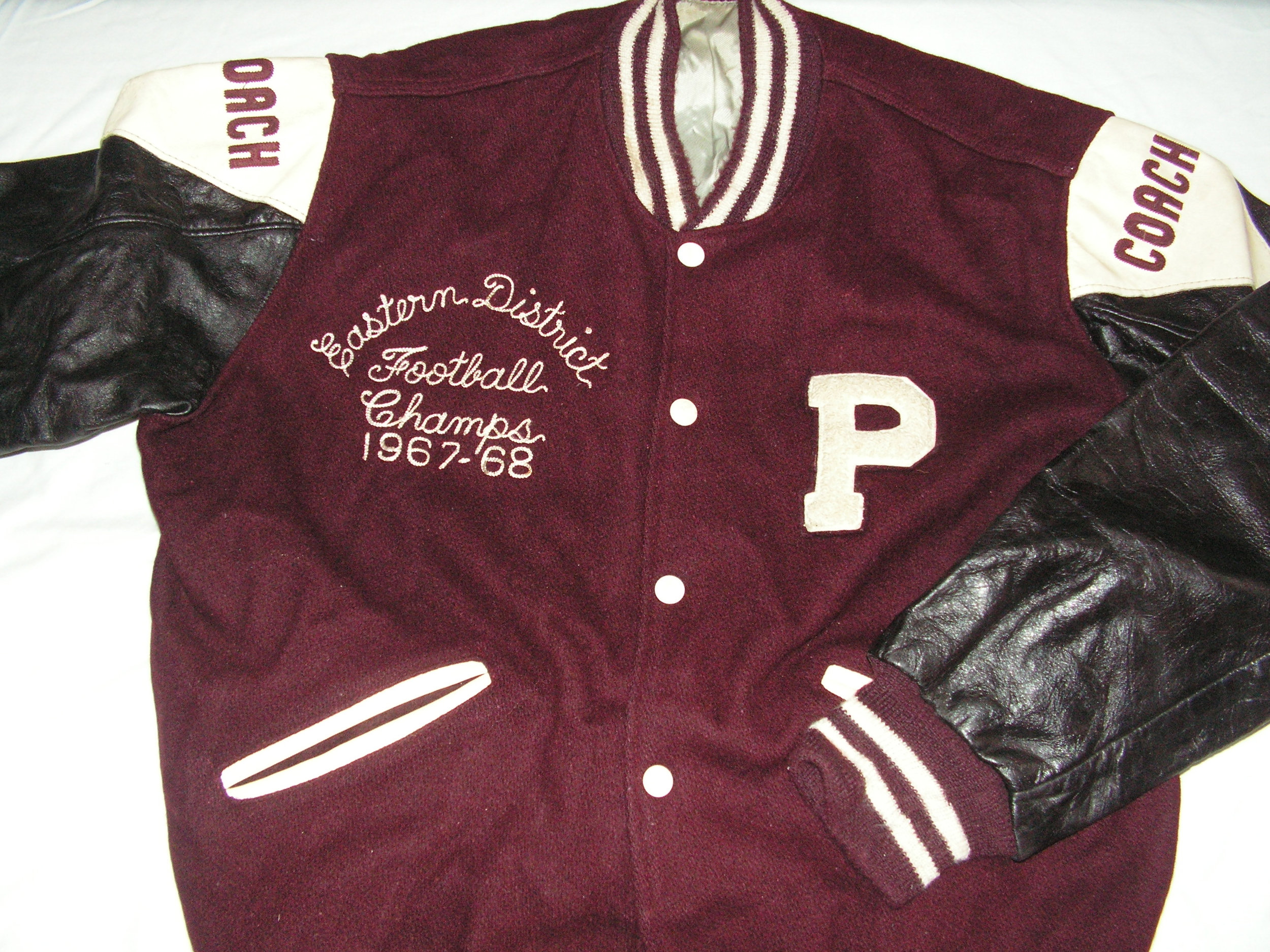 1968 Championship Football Jacket