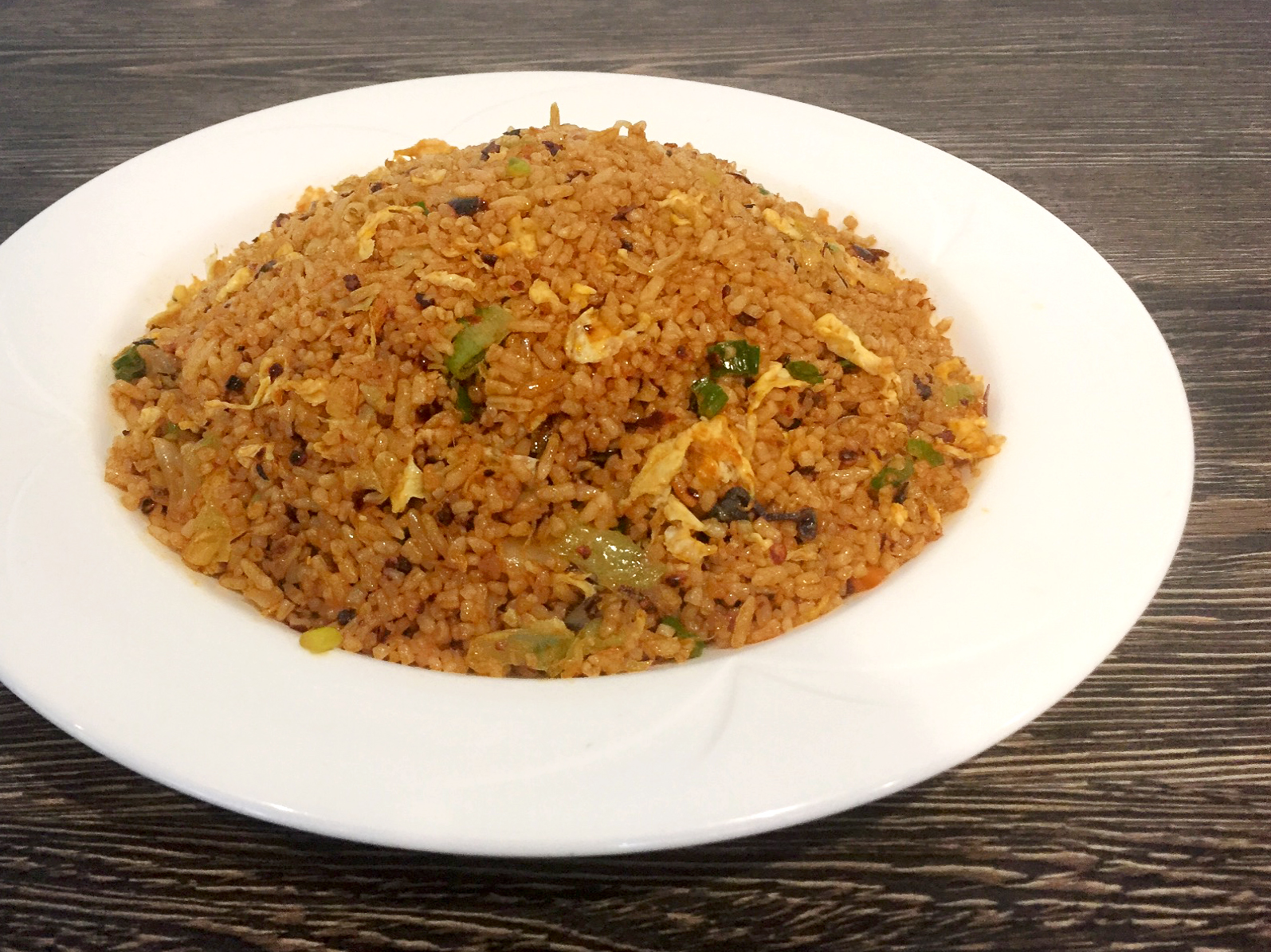 FRIED RICE WITH LAOGANMA CHILI SAUCE | 老乾媽蛋炒饭