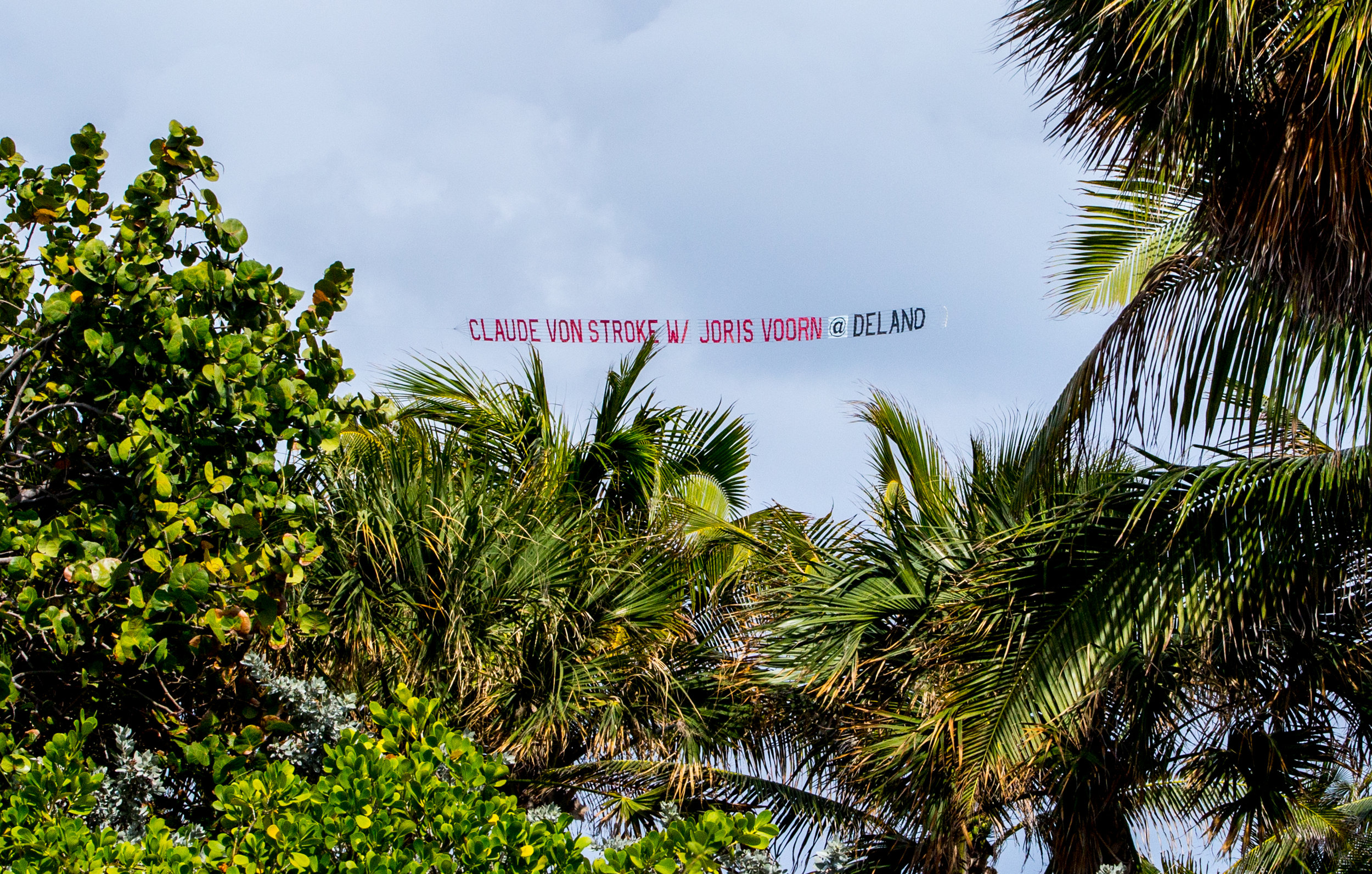 This is the Miami version of seeing your name in lights.