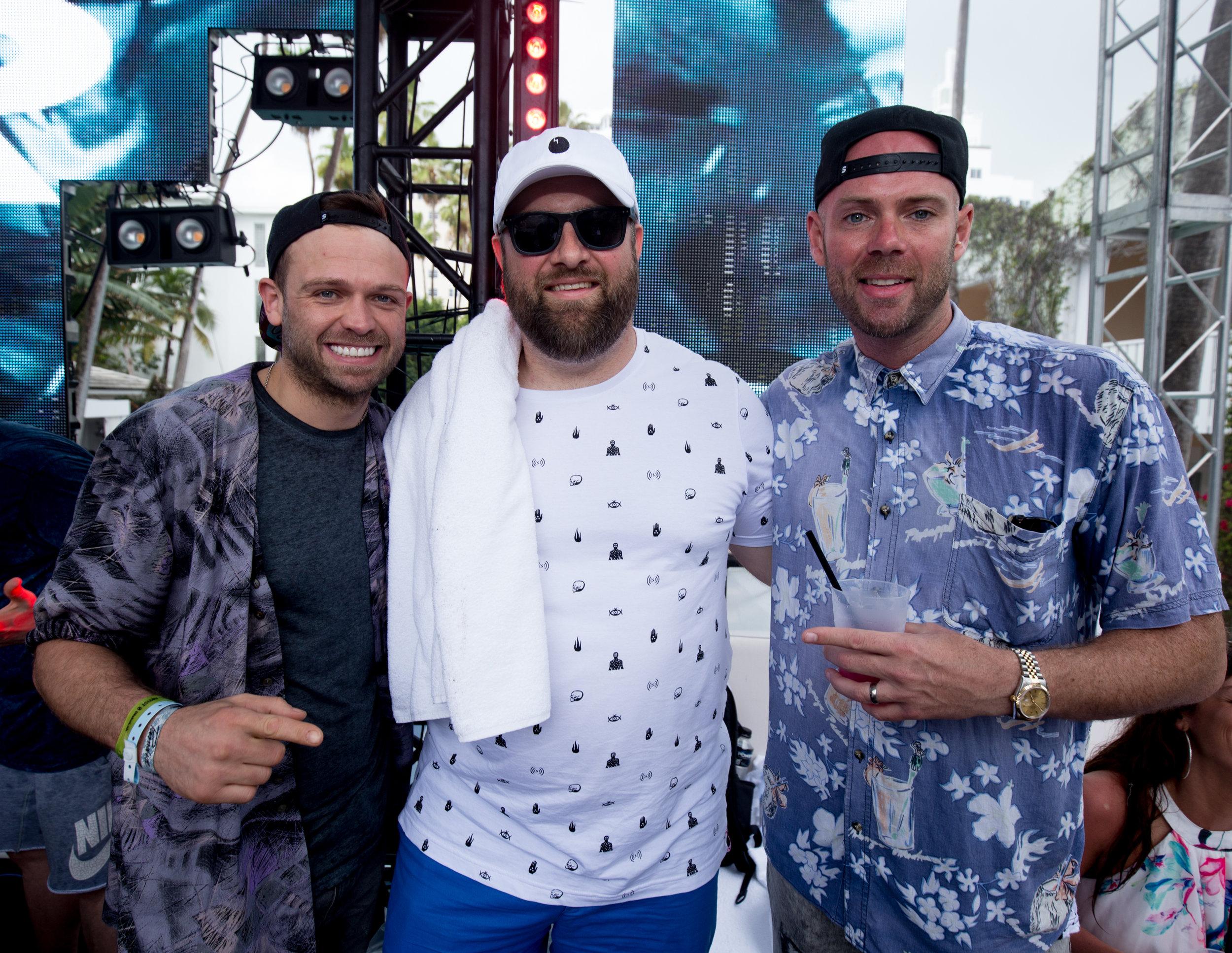 With my dudes from Solardo!