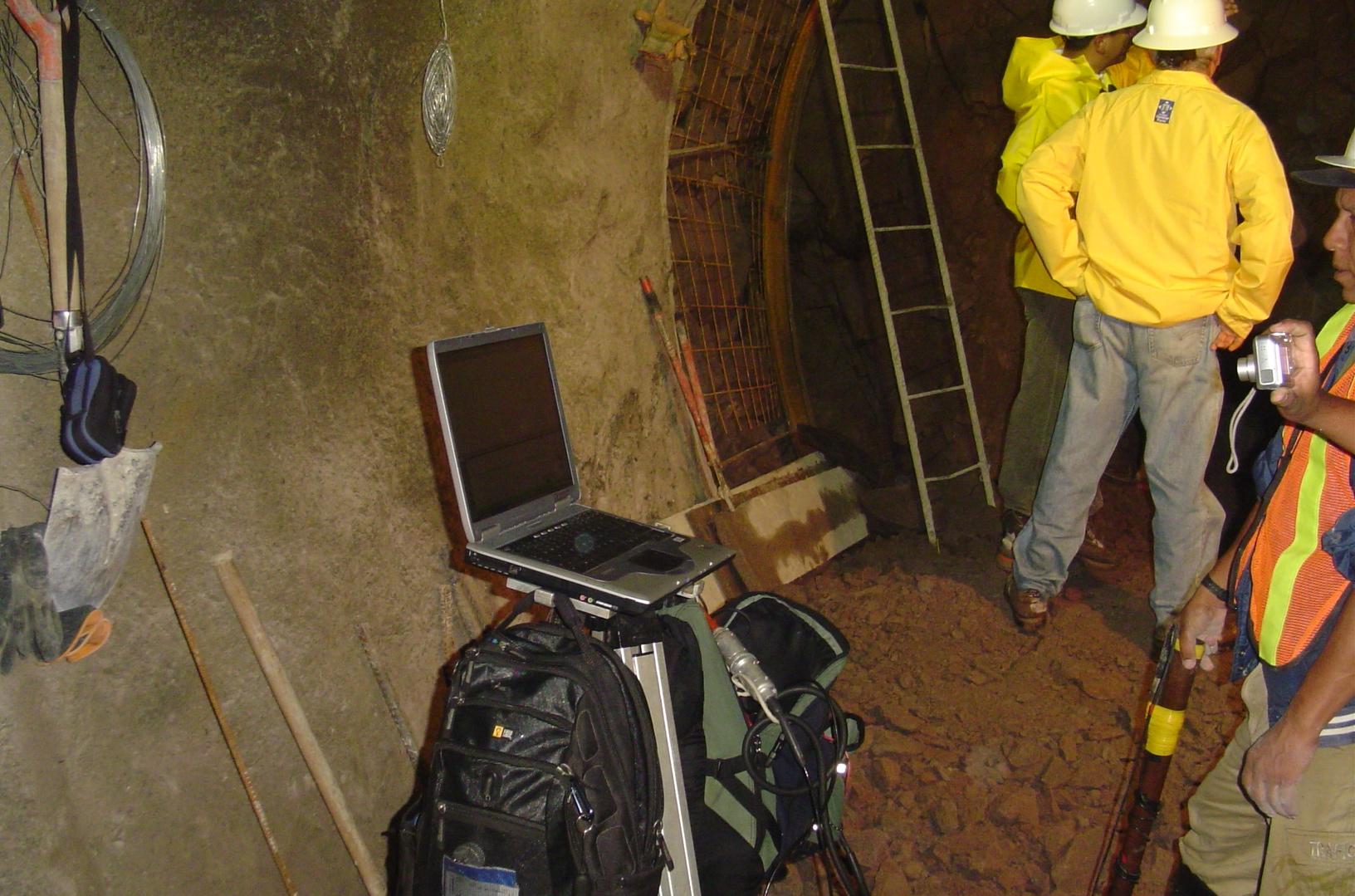 Geofísica de túnel - Tunnel geophysics
