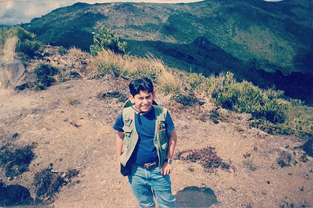 #tb Bruno alrededor de 1998 ya iba en el camino de la geología • Bruno around 1998, already on the path to becoming a geologist • #throwback #flashback #recuerdos #memory #geologia #geology #geologo #geologist