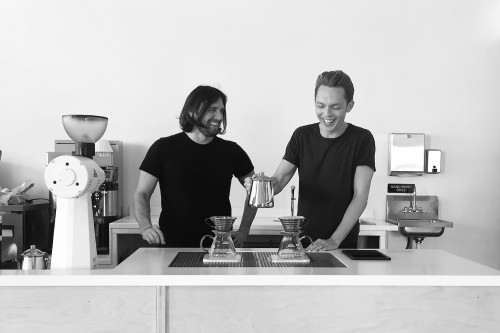 Pictured: The Minimalists in 2016, in classic minimalist aesthetic form