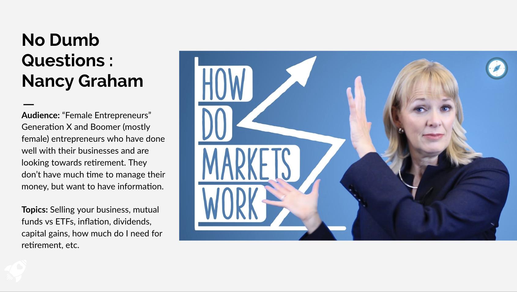 No Dumb Questions with Nancy Graham