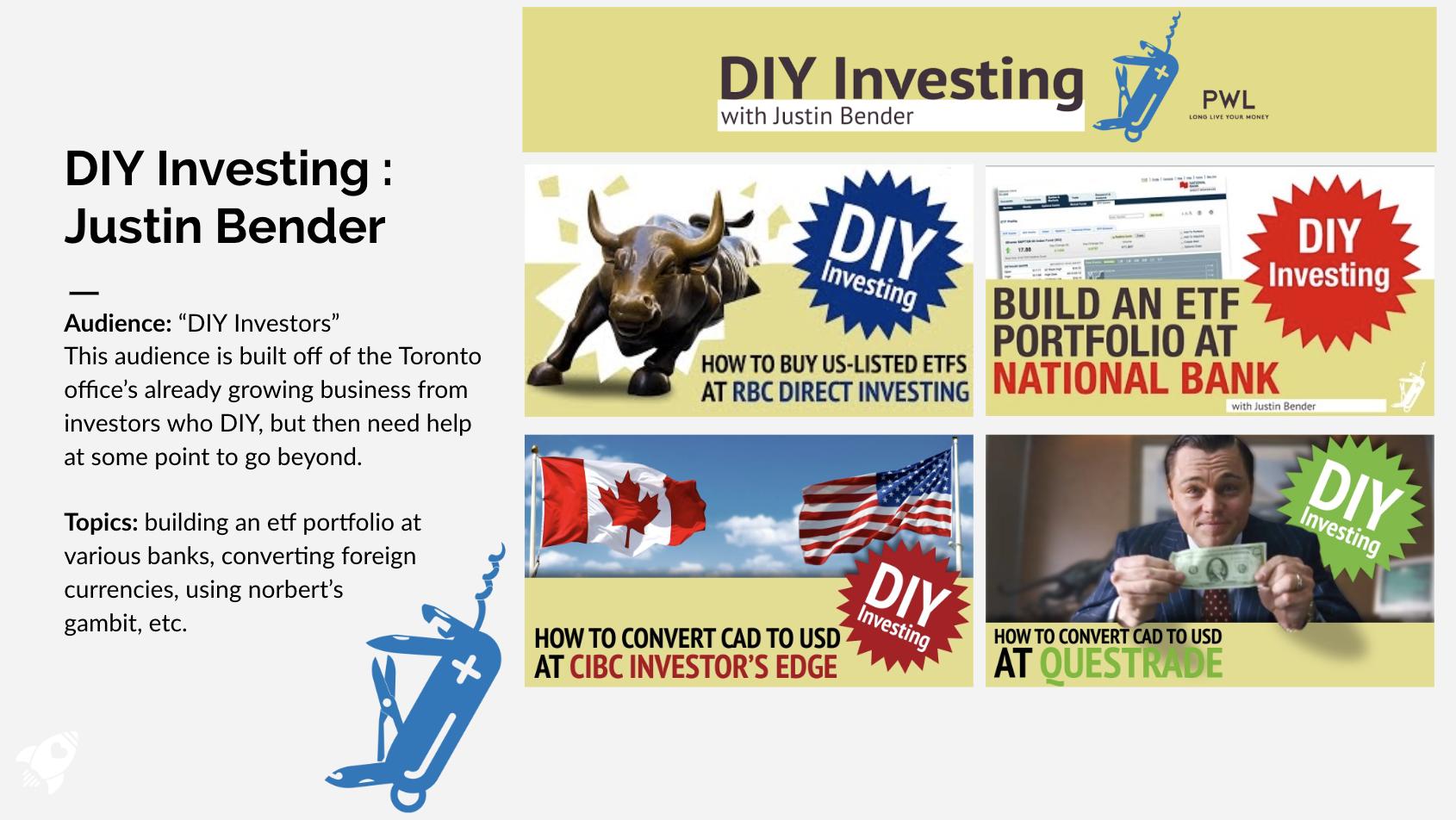 DIY Investing with Justin Bender