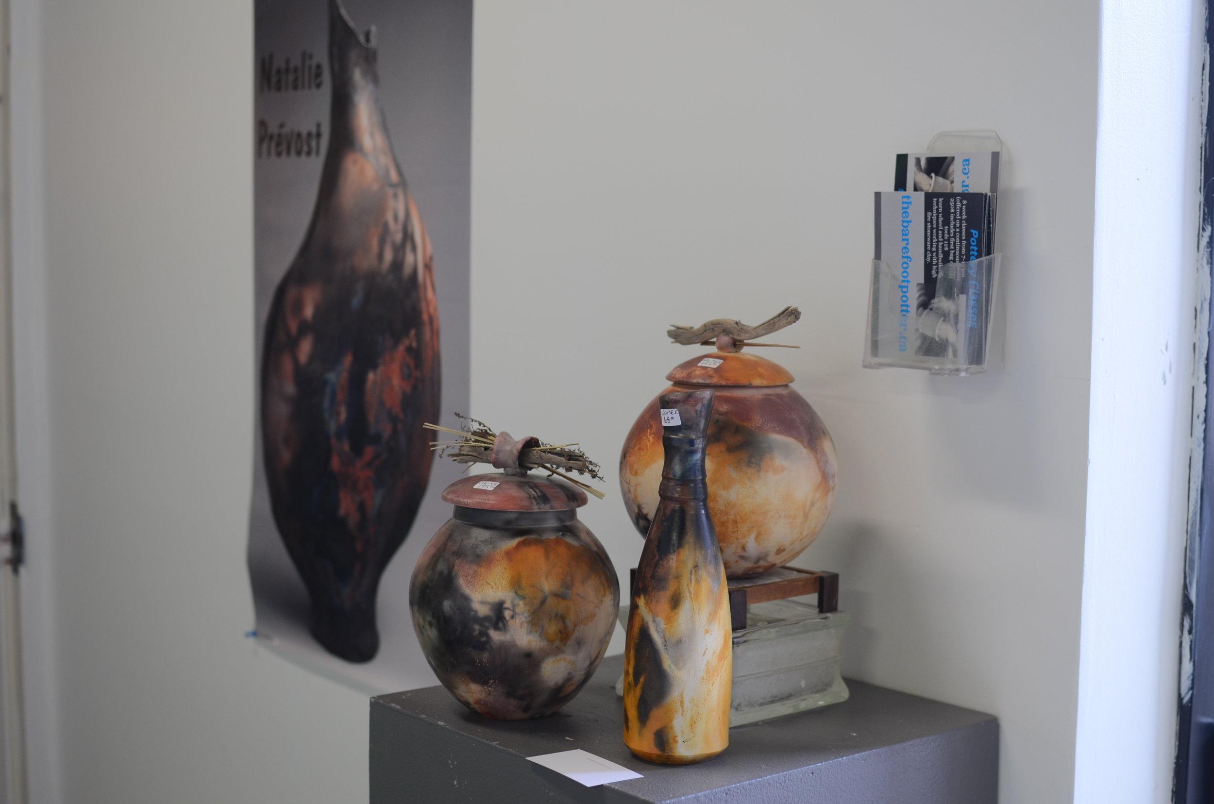 Photo by Lauren Judge of ceramics by Natalie Prevost