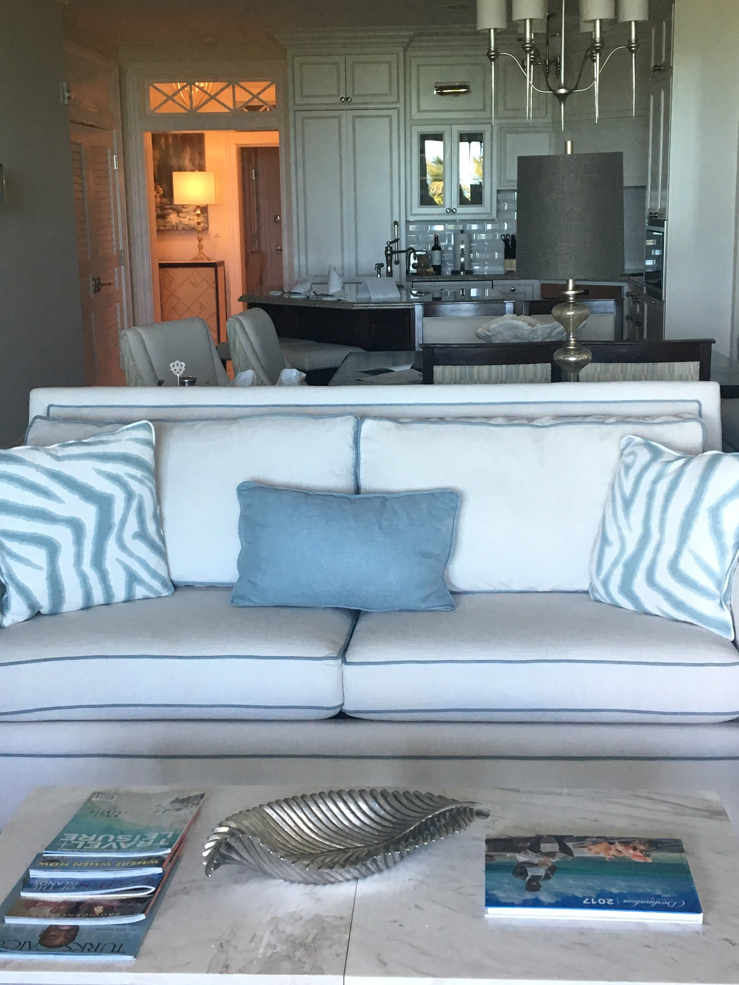 This is the one bedroom ocean front one-bedroom with study. I love this option for families!!!