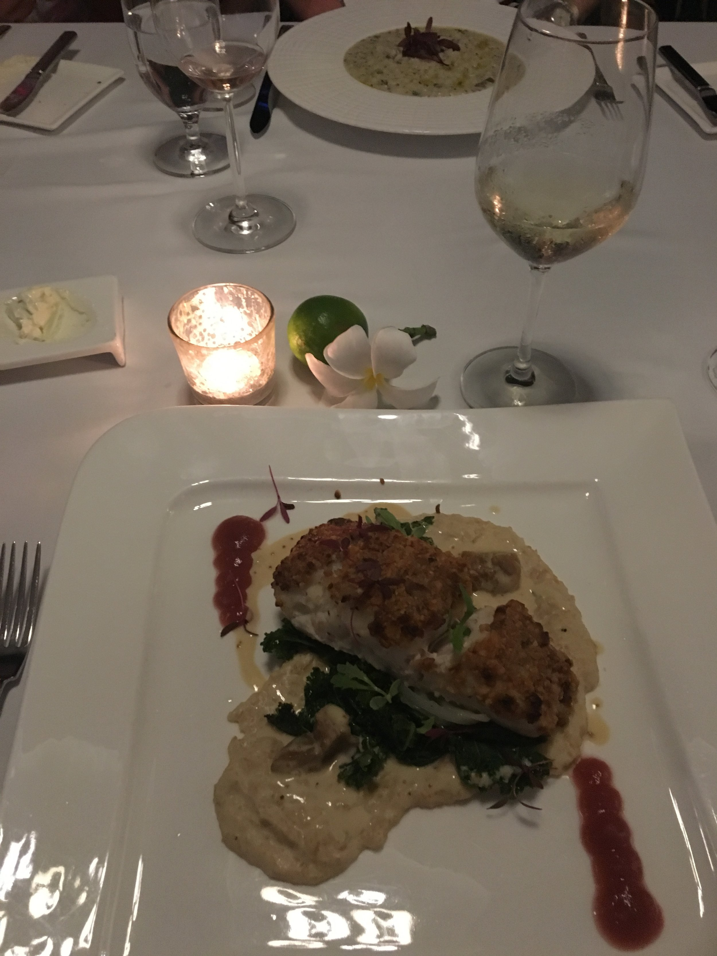 Parallel 13 served the best grouper I have ever had. Ever.