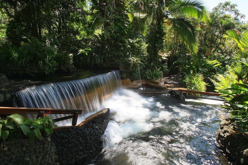 Tabacon Grand Spa in Costa Rica