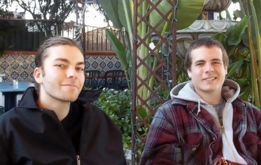 Vesper Sails' Evan & Marshall repose
