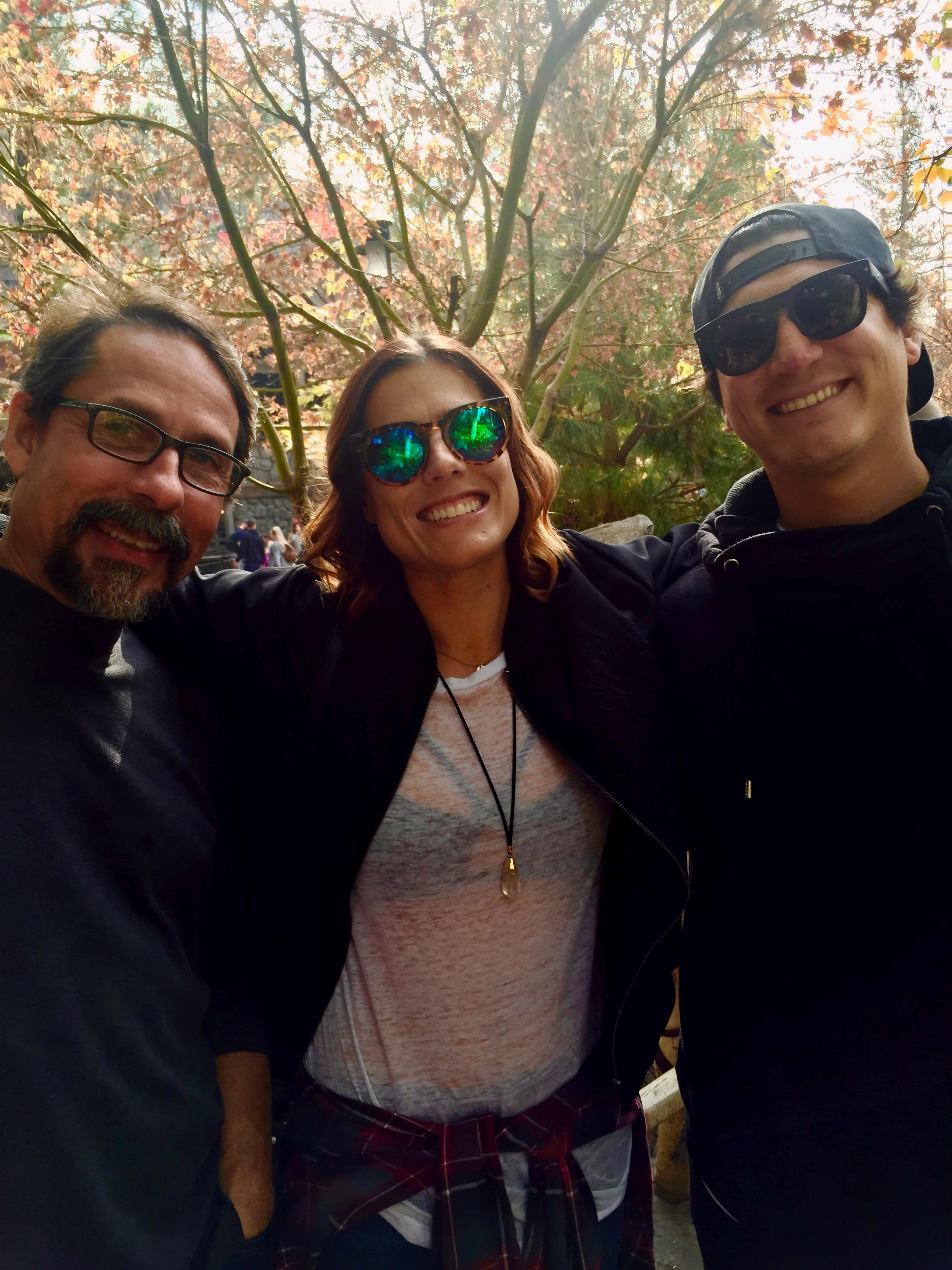 Mark, Jessica Rose and Jaime Preciado