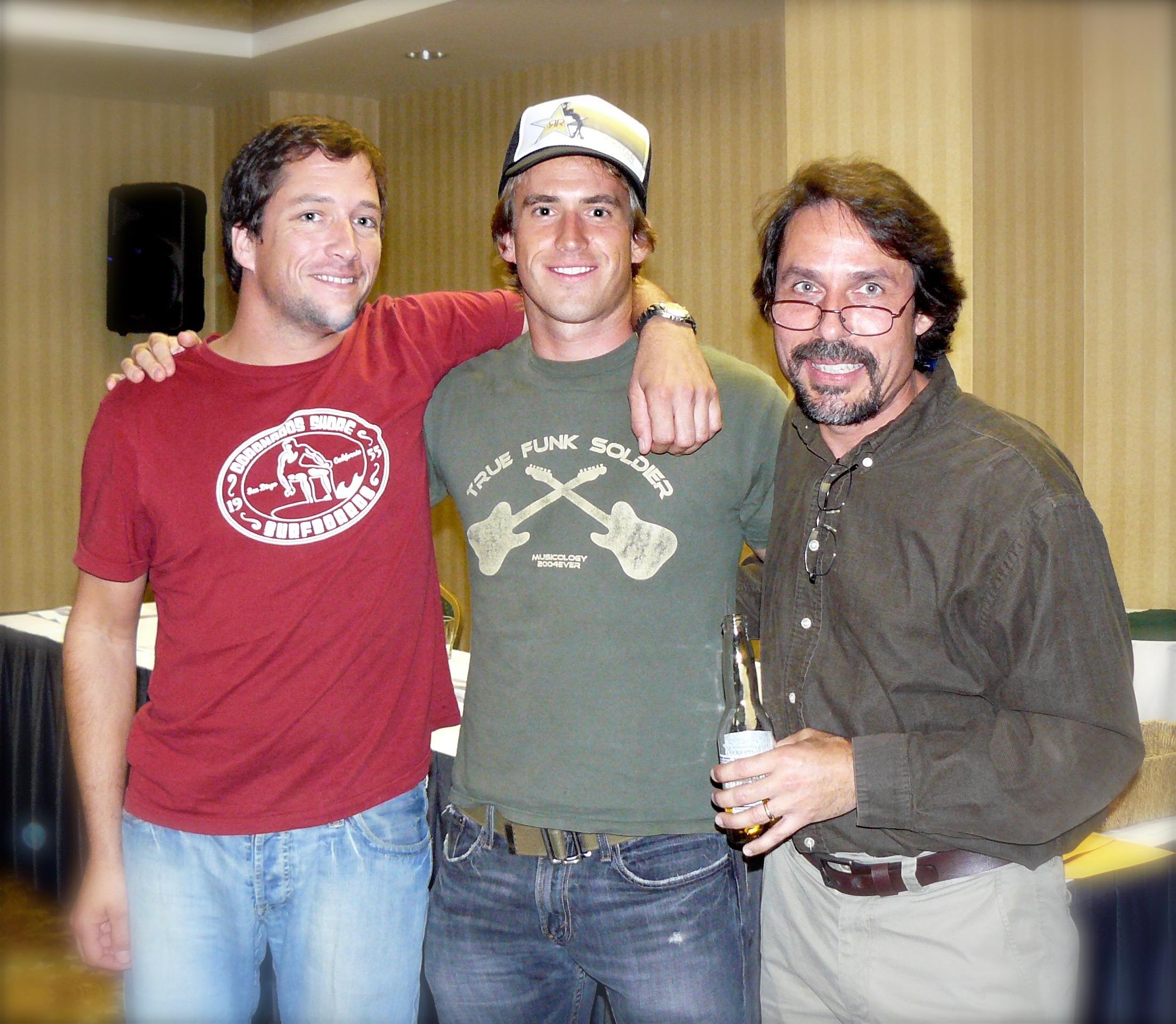 Kirk Cumming, Ryan Hiller and Mark Charles Hattersley