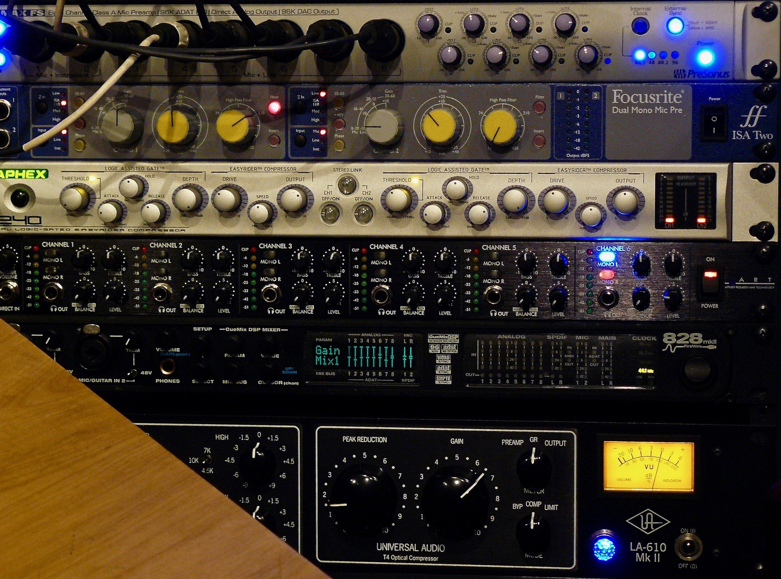 20 Inputs and 6 Monitor Mixes