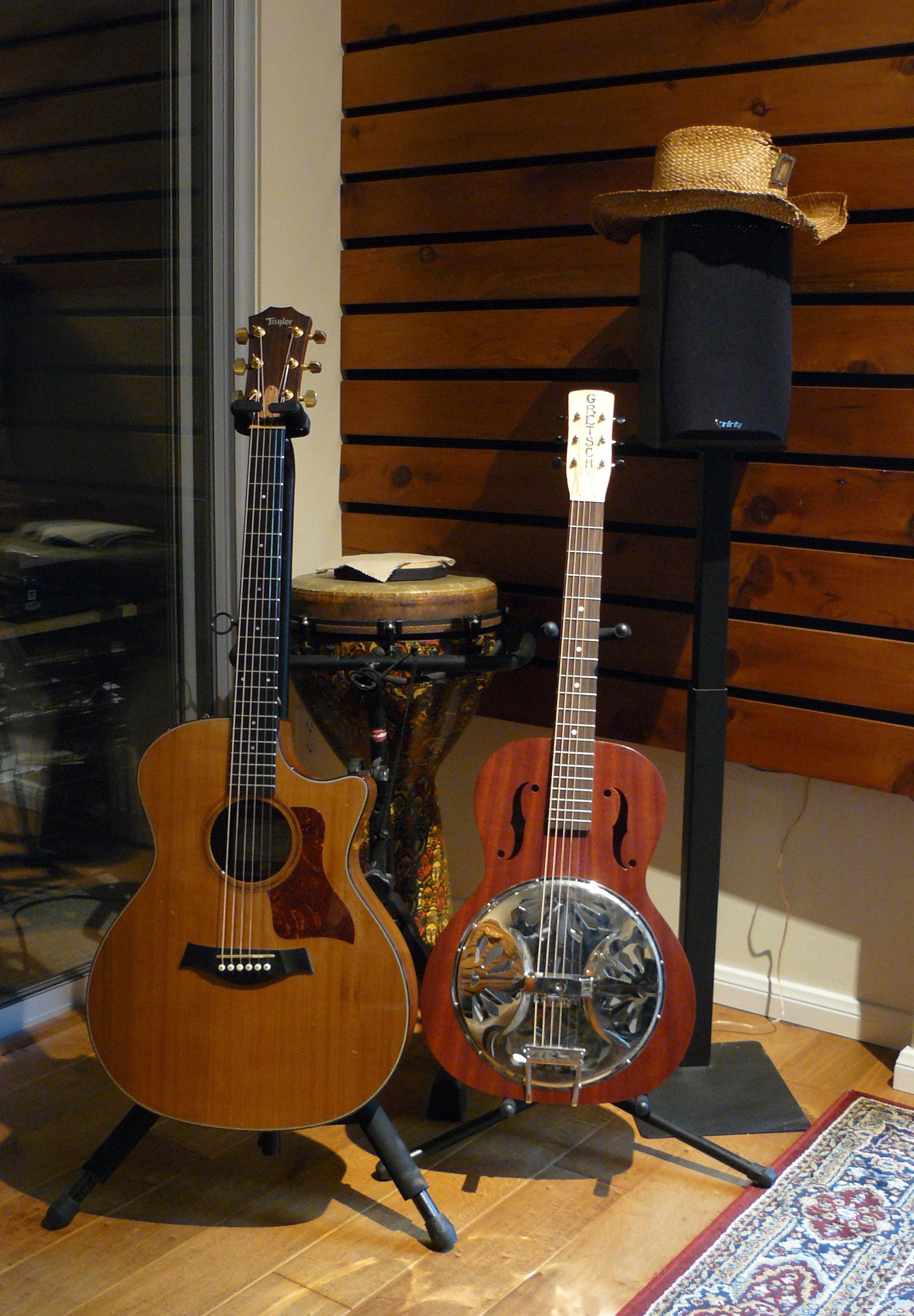 We Love Guitars at Rancho Bohemia;5.1 surround monitoring, too!